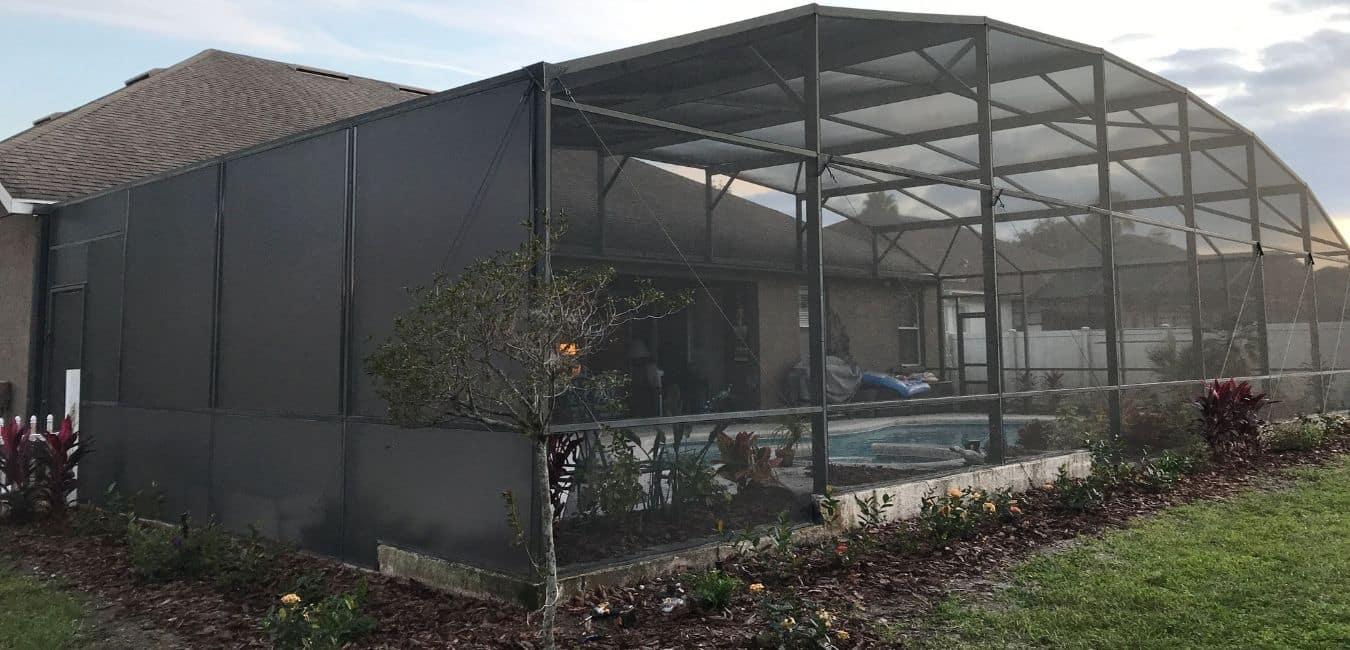 custom Pool patio enclosure in lake mary florida